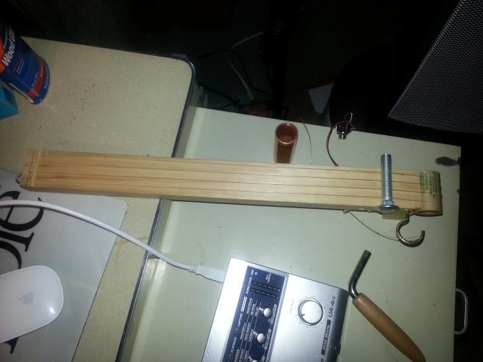 Uke Onna Stick prototype done