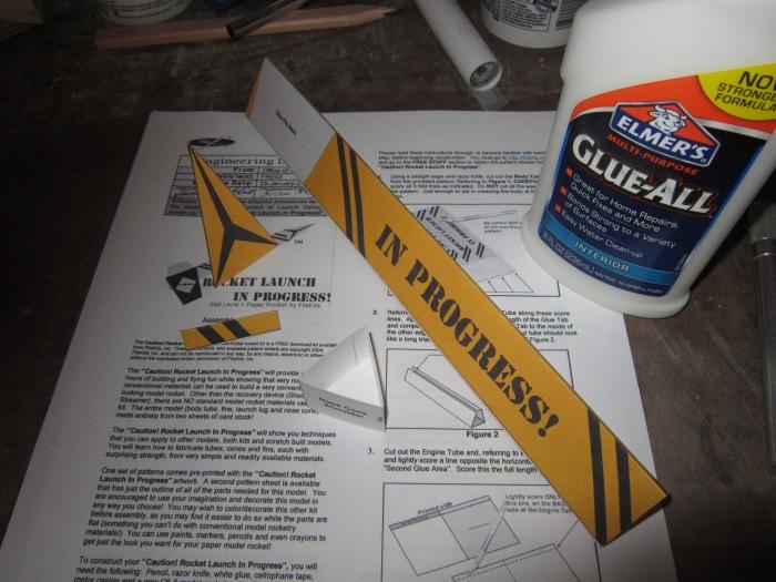 Caution! Rocket Launch In Progress!