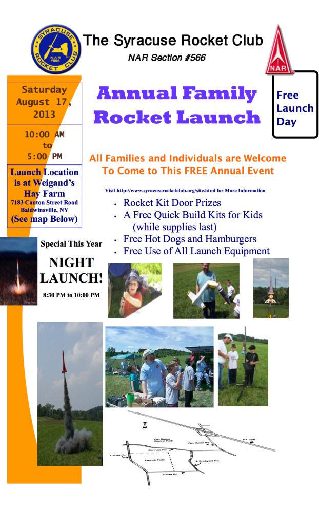 SRC launch flyer