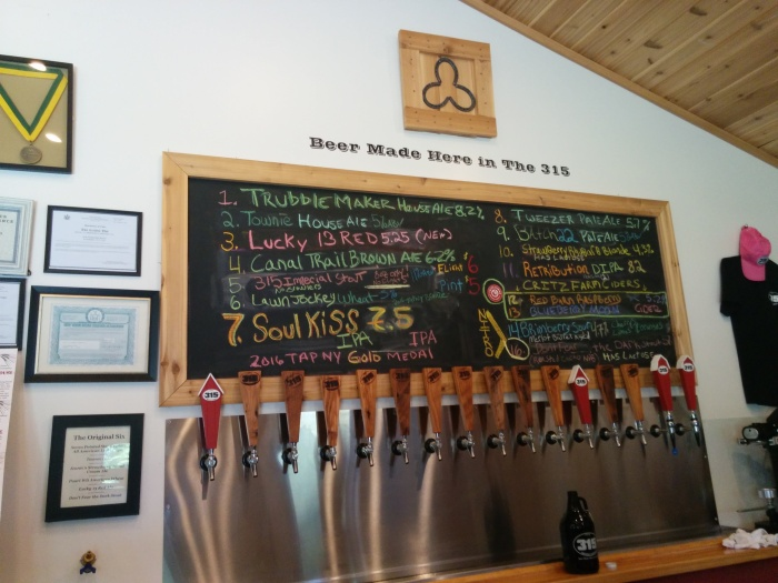 Return of the Crawler: Local 315 Brewing Co.