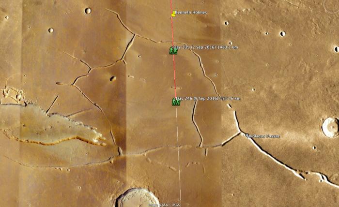 #MarsWalk Day 239, 1483.2km