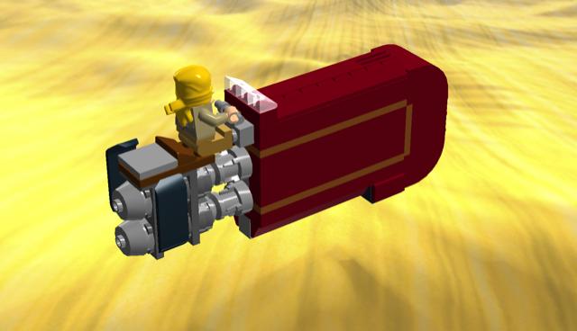 Rey's speeder (part4)