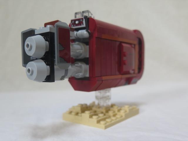 Rey's speeder (part6)