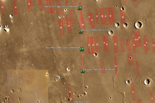 #MarsWalk Day 456, 2638.6km